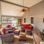 oversized furnished deck
